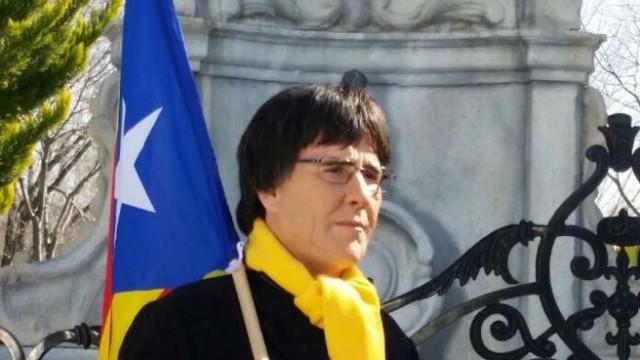 Humorista disfarçou-se de Puigdemont. Confundiram-no e chamaram a polícia