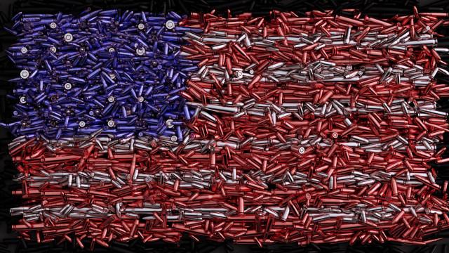 Cidadãos norte-americanos têm quase metade das armas de todo o mundo