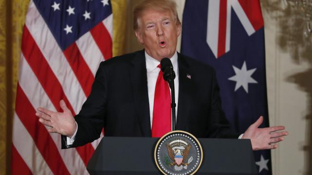 """Trump admite fase """"muito dura"""" se sanções a Pyongyang """"não funcionarem"""""""