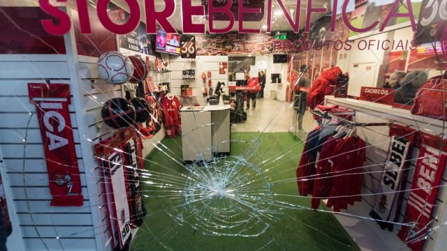 Nova Casa do Benfica em Braga vandalizada antes da visita de Vieira
