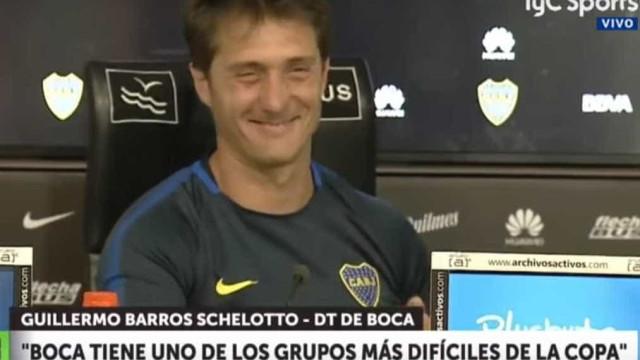 Treinador do Boca disse que queria Messi. A reação foi esta