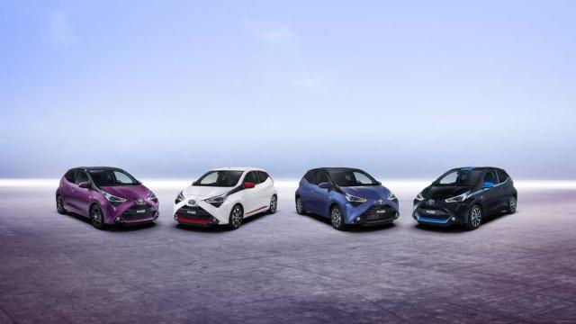'Restyling' e mais diversão. Toyota promove alterações ao Aygo
