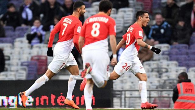 Rony Lopes brilha mas Monaco 'tomba' nos minutos finais