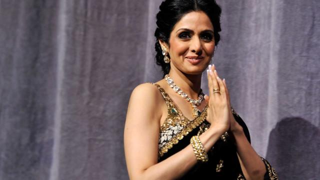 """Morre aos 54 anos a """"diva de Bollywood"""" Sridevi Kapoor"""