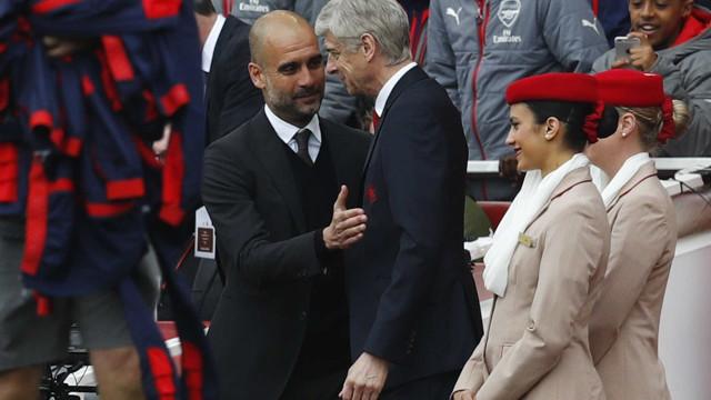 """Guardiola revela reunião com Wenger: """"Sinto que o posso ajudar"""""""
