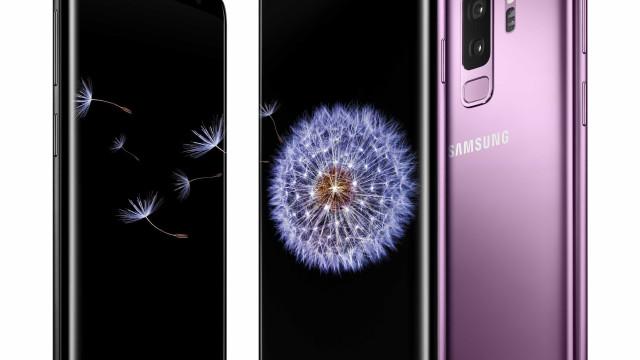 Testes dizem que o Galaxy S9 tem o melhor ecrã