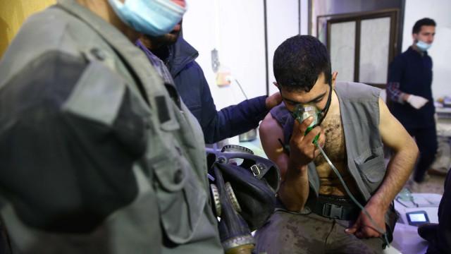 Houve pelo menos 106 ataques químicos na Síria desde 2013