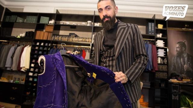 """""""Sou alfaiate, não sou estilista. Respeito, mas não sou pessoa de modas"""""""