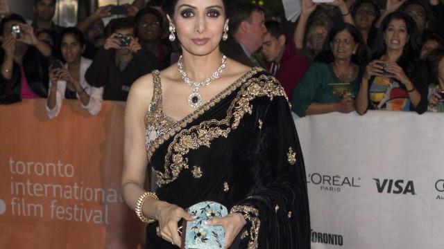 """Revelada causa da morte de Sridevi Kapoor: """"Afogamento acidental"""""""