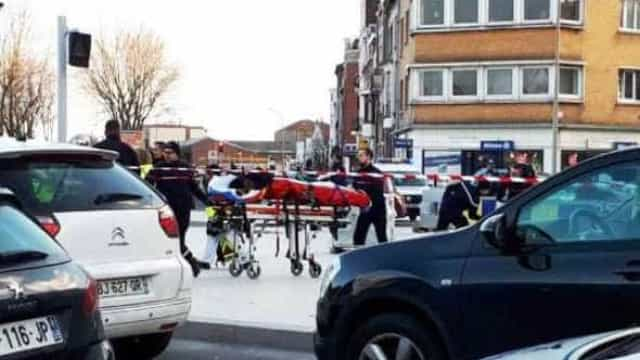 Dunquerque: Duas pessoas feridas em tiroteio, polícia busca atirador
