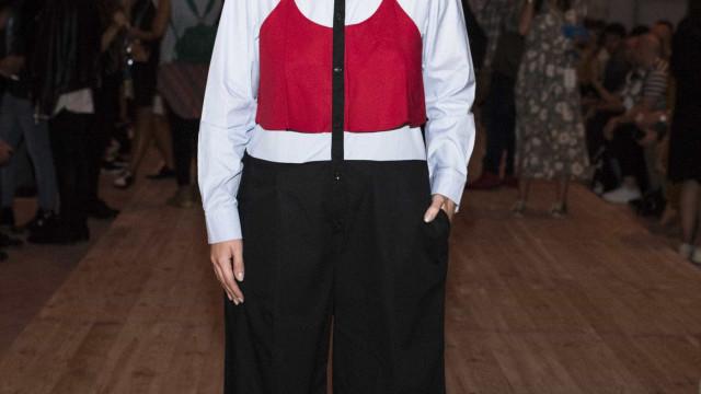 Céline Dion quis cumprimentar Raquel Strada. Blogger ficou em êxtase