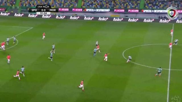 Moreirense gelou Alvalade... mas o VAR aqueceu novamente as bancadas