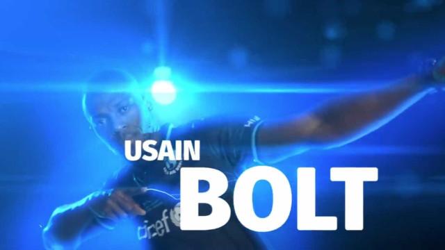 Bolt vai mesmo cumprir sonho de jogar futebol... no Teatro dos Sonhos