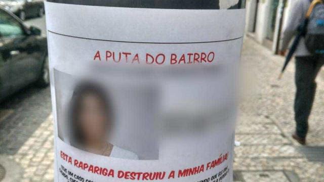 Há um cartaz espalhado pelas ruas de Lisboa que denuncia... uma traição