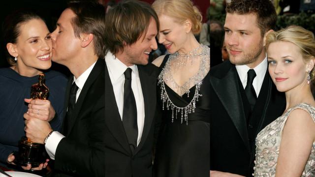 Relembre os momentos românticos mais icónicos dos Óscares