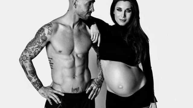 Prestes a ser pai pela terceira vez, Sergio Ramos declara-se a esposa