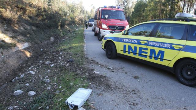 Despiste de autocarro: Há um morto e, pelo menos, dois feridos graves