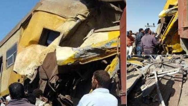 Colisão entre comboios faz pelo menos 10 mortos no Egito