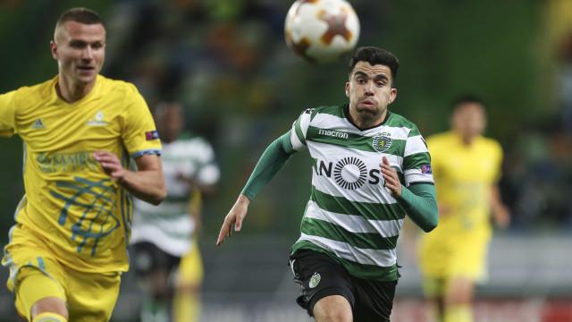 """Acuña confirma proposta do Boca e atira: """"Aspiro a um bocado mais"""""""