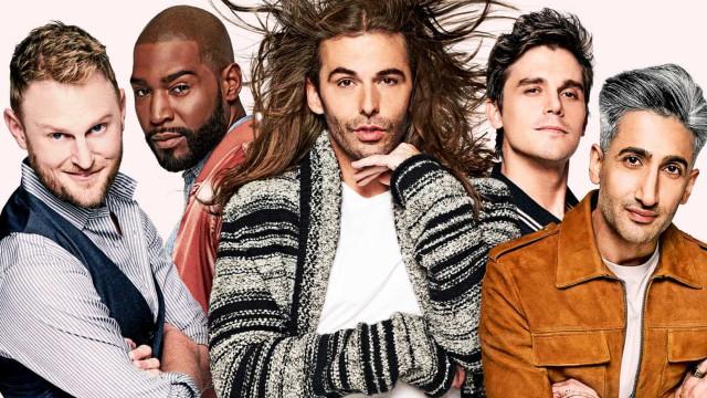 'Queer Eye', a série surpreendente que vai dominar o seu fim de semana