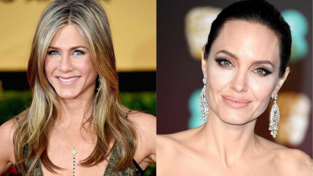 Será que é desta? Jennifer Aniston quer fazer as pazes com Angelina Jolie
