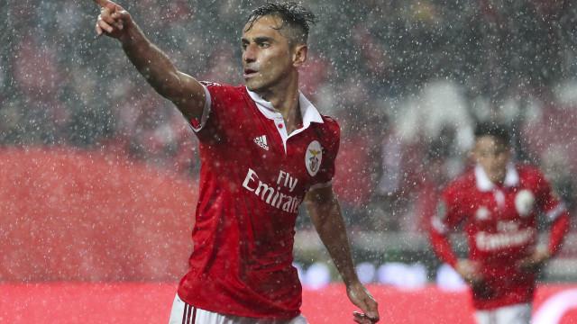 Benfica está muito perto de chegar a acordo com Jonas