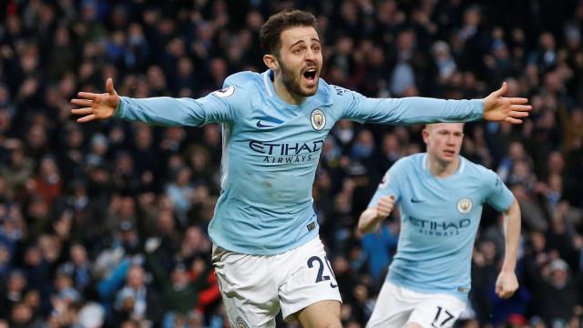 Bernardo Silva resolve o Manchester City-Chelsea