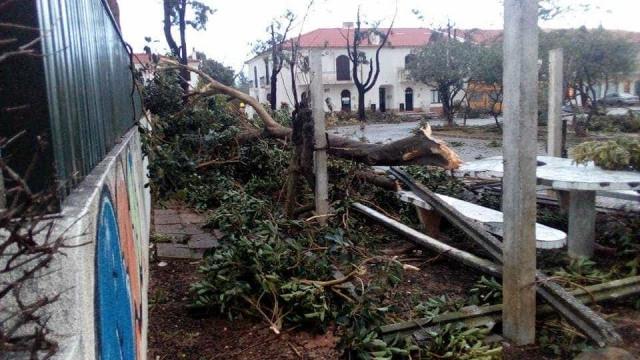 Mini tornado registado entre Olhão e Faro