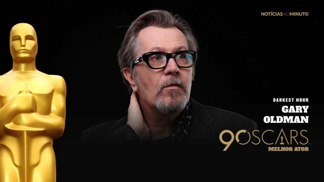 Gary Oldman vence Óscar de Melhor Ator