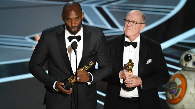 Kobe Bryant junta Óscar aos anéis de campeão da NBA