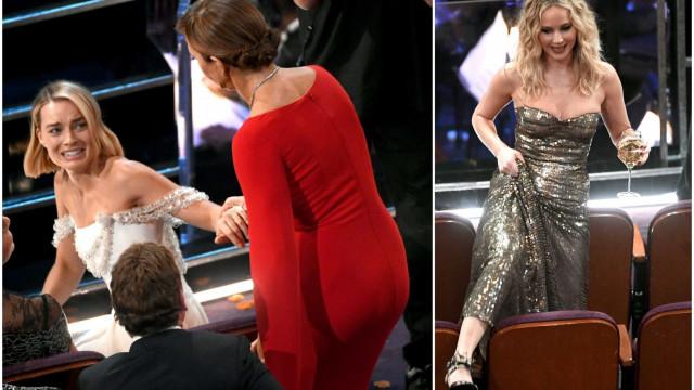 Bastidores: Os melhores momentos dos Óscares