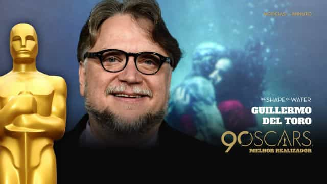 Guillermo del Toro ganha o Óscar de Melhor Realizador