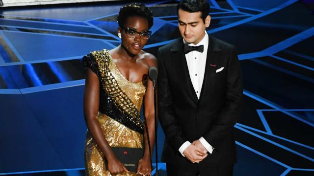 Kumail Nanjiani e Lupita Nyong'o deram voz aos 'dreamers' nos Óscares