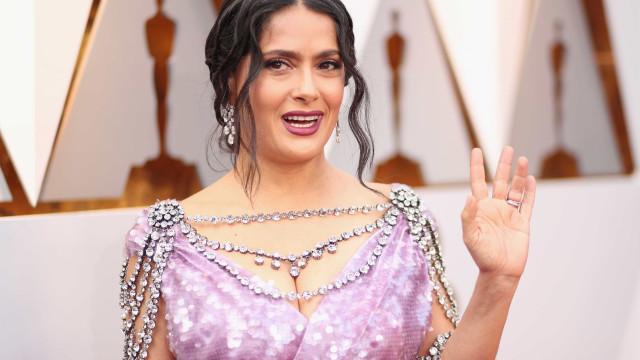 Os memes inspirados no look de Salma Hayek