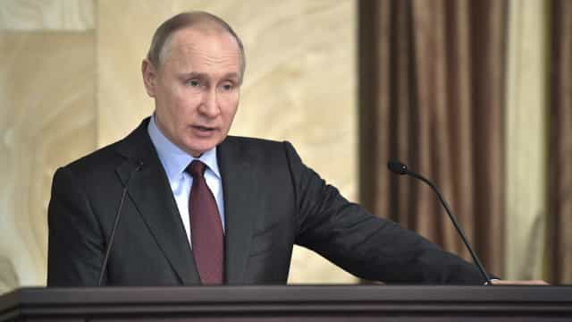Vladimir Putin recebeu mais de 90% dos votos na Crimeia