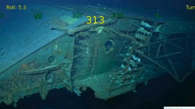 Porta-aviões afundado na Segunda Guerra Mundial encontrado 76 anos depois