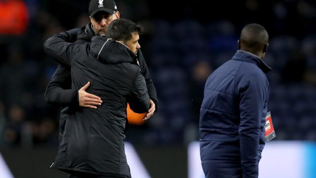 """Conceição quer honrar o FC Porto e Klopp relembra: """"Eles são portugueses"""""""