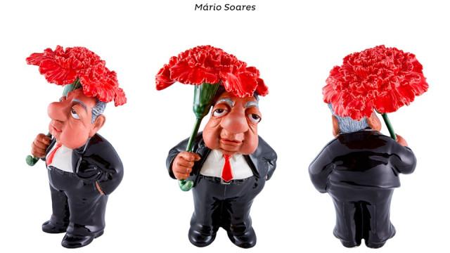 José Ramos-Horta vai juntar-se a coleção de Figurões da Bordallo Pinheiro