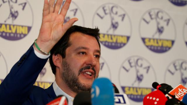 Liga anuncia acordo com M5S sobre primeiro-ministro e governo para Itália