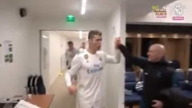 Apuramento do Real Madrid mereceu 'grito de guerra' de CR7
