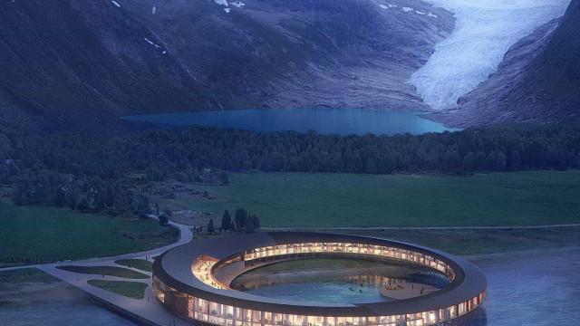 Hotel inspirado em nave espacial será construído no Ártico