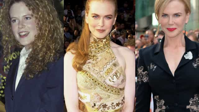 Bem vestida ou mal vestida? Conheça a evolução do estilo de Nicole Kidman