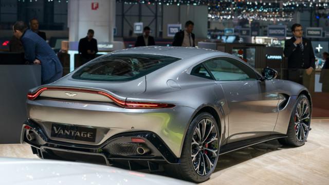 Aston Martin Vantage conquistou Genebra. Existiam dúvidas?
