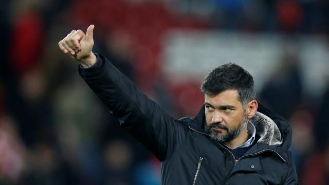 Sérgio Conceição é o melhor treinador do mês de fevereiro
