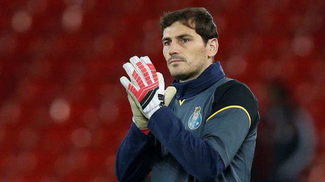 """Sem """"rede na Serra"""", Casillas deixou 'farpa' a Benfica e Sporting"""