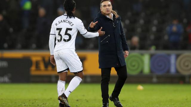 Carvalhal revelou pedido de Renato Sanches após lesão