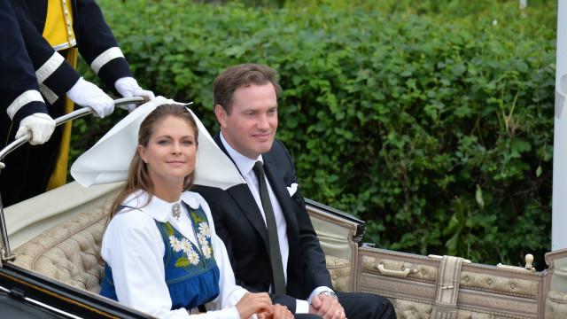 Madalena da Suécia e Chris O'Neill foram pais pela terceira vez