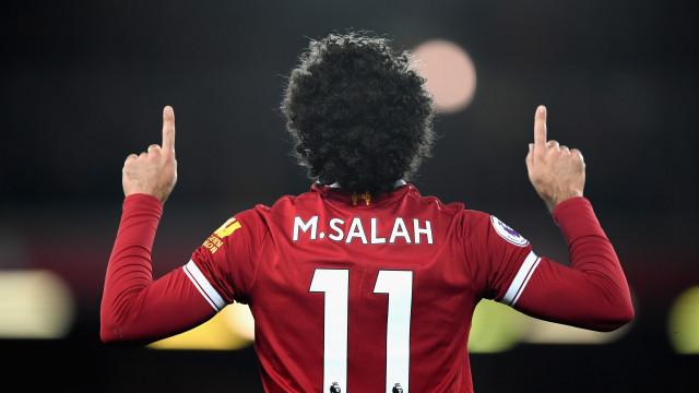 Salah prestes a fazer algo nunca visto em 120 anos de futebol inglês