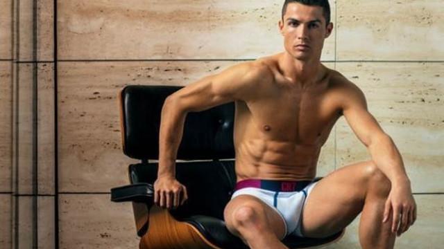 """Cristiano Ronaldo: """"Adoro que a roupa íntima seja um elemento de luxo"""""""