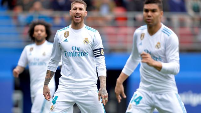 O motivo que levou Sergio Ramos a entrar e sair de campo é hilariante